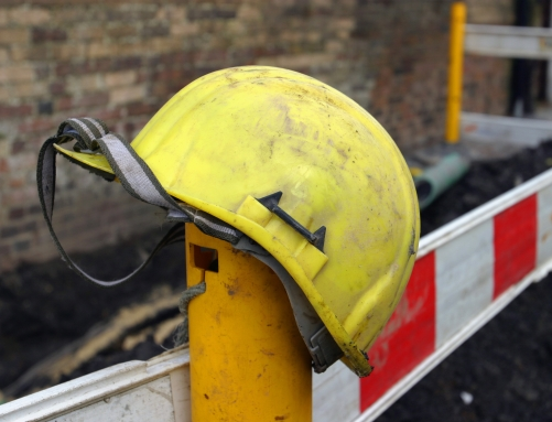 Picture of safety helmet