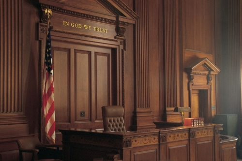 Picture of court room