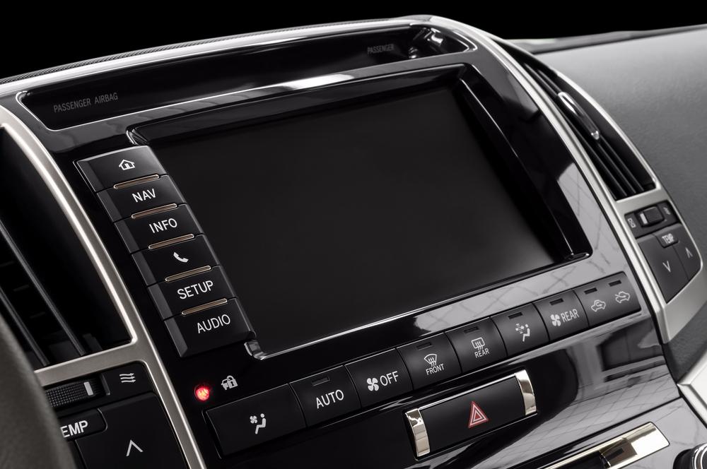 photo of a car dashboard