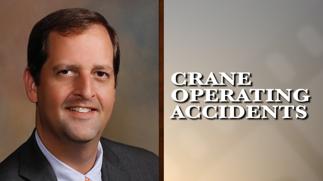 Crane Operating Accident Experience