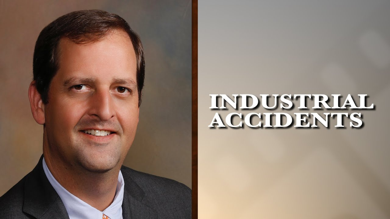 What type of industrial accidents do you see in your practice?