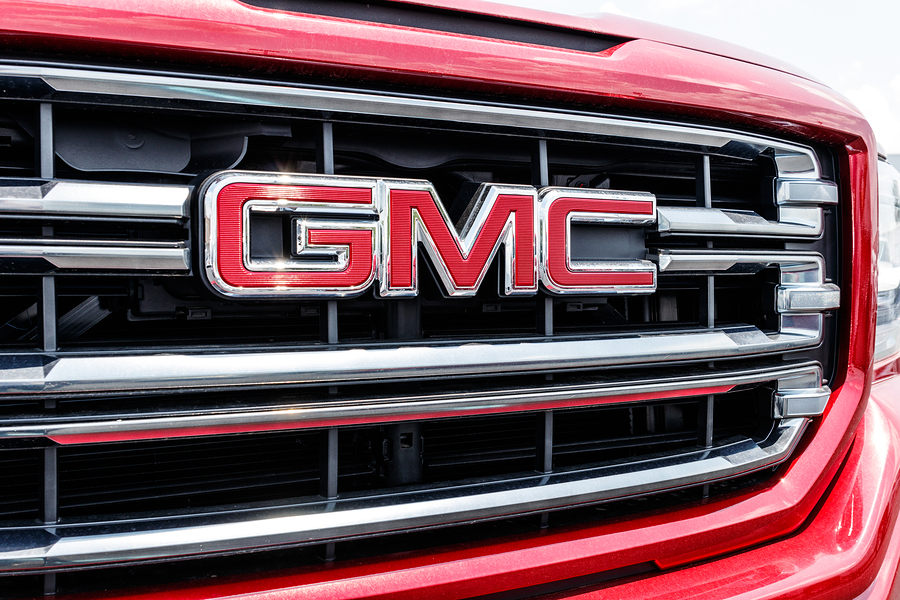 Picture of GMC grille