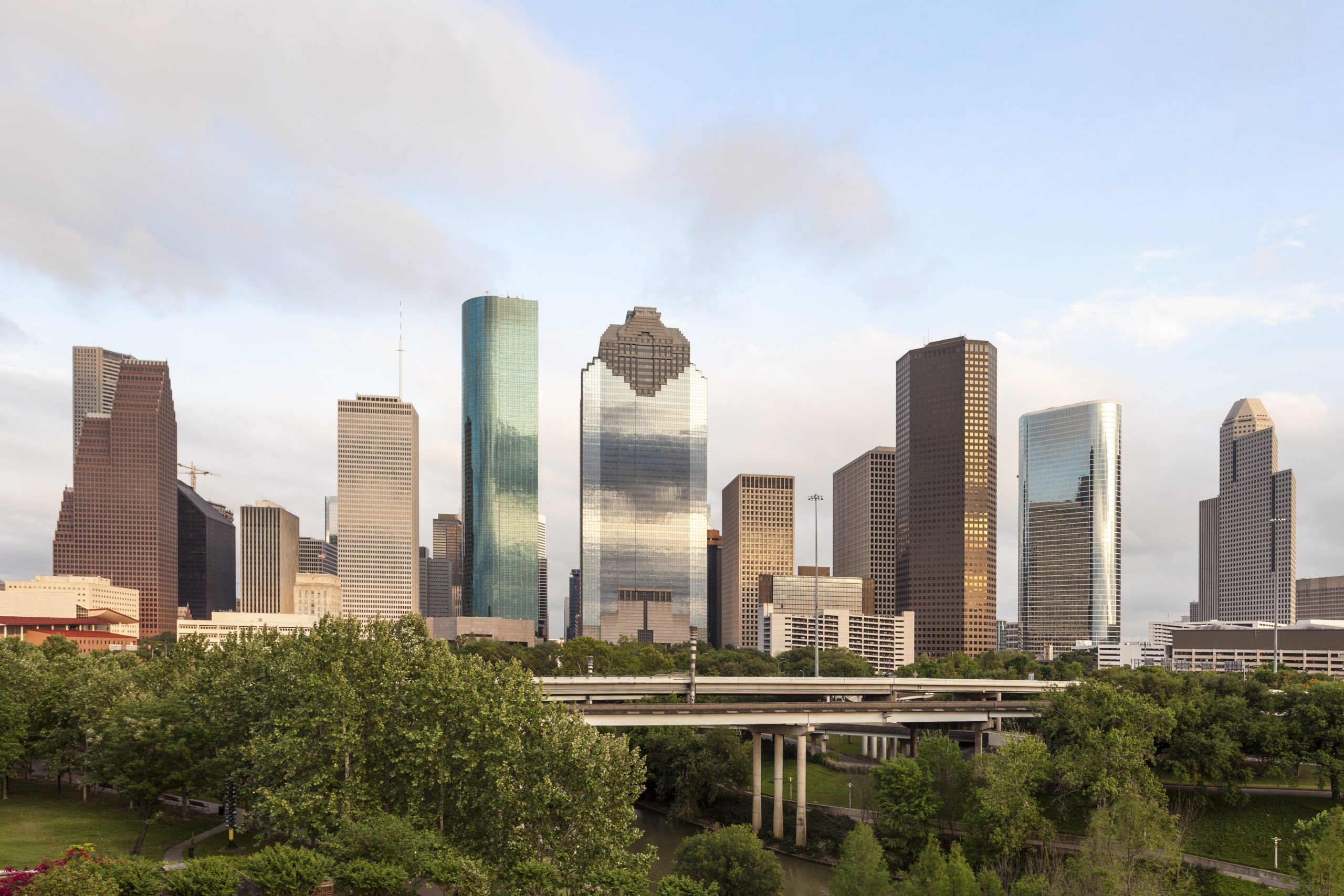 Houston downtown skyline